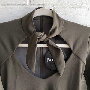 Nookie Dresses - NWT Nookie Foxy Tie Mini Dress